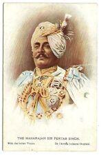 India WW1 color postcard MAHARAJA SIR PERTAP SINGH of Idar