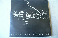 "GENESIS""FOLLOW YOU FOLLOW ME-disco 45 giri CHARISMA Italy 1978 PROG.UK"""