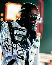 Will I Am Black Eyed Peas SIGNED Autograph 10x8 Photo 2 AFTAL COA The Voice