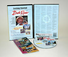 Bob Ross  GETTING STARTED DVD, USING PAINT TOOLS & PAINTING YOUR FIRST MOUNTAIN