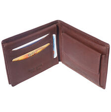 Portafogli Cuoio Pelle Leather Wallet & Card Cases Italian Made In Italy PF1123b