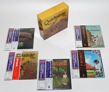 Quicksilver Messenger Service  JAPAN Mini LP CD x 5 titles + PROMO OBI + BOX Set