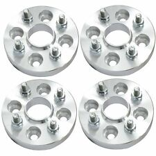 4 pcs 25mm Hubcentric Wheel Spacers | 4x100 Adatpers | Forged | 12x1.5 Studs