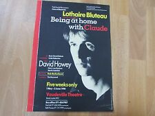 Lothaire BLUTEAU in BEING at Home with CLAUDE Original VAUDEVILLE Theatre Poster