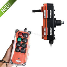NEW Transmitter&Receiver Hoist Crane Radio Industry Wireless Remote Control Easy