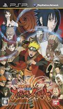 USED Naruto Shippuuden: Narutimate Impact Japan Import Sony PSP