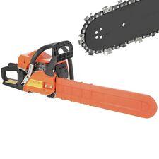 """20"""" Bar Gas Chainsaw 58cc Chain Saw Cutting Wood 2 Cycle Engine Gasoline"""