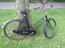 RALEIGH SUNBEAM 1936 vélo avec RODS freins lor sports rare original