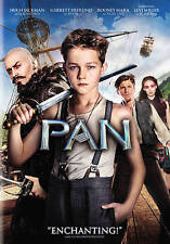PAN 2015 Family Adventure dvd HUGH JACKMAN Rooney Mara AMANDA SEYFRIED Peter Pan