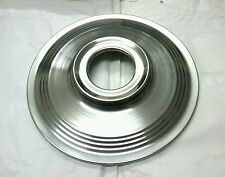 Stainless Steel 7 inch Front Wheel Trim Hub Cover T.L.Shoe Triumph 69-74 37-3443