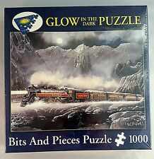 Train Puzzle Alberta Bound Artist Ted Blaylock Glow in the Dark 1000pc PC Sealed