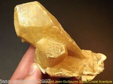 725G!! SUPERBE 1979 BI-COLOR BARYTINE BARYTE BARITE CRISTAL.MINE DE MAINE,FRANCE