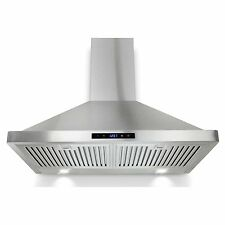 "30"" Kitchen Wall Mount Stainless Steel Stove Vents Range Hood Y-GVBI-30S"