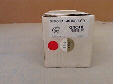 Grohe 40043 Sinfonia Cup Holder Less tumbler - 40043LG0 WHITE & GOLD