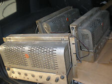 2 X RCA HIGH POWER OLD THEATRE CINEMA AMPLIFIER VERY HEAVY EACH HAS 4 X 807 Tube