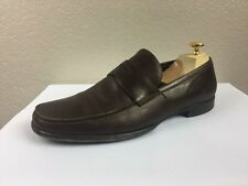 ERMENEGILDO ZEGNA Brown Men Shoes Dress Oxfords Size 9 EE