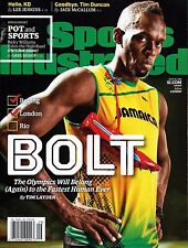 New Sports Illustrated Usain Bolt Jamaica July 18 2016 Rio Olympics No Label