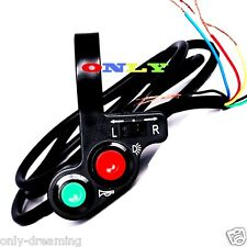 7/8'' Motorcycle Horn Turn Signal Light Switch For Dual Sport Bike Buggy Cruiser
