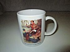 Vintage BSA BOY SCOUTS THE ADVENTURE TRAIL Cup Mug