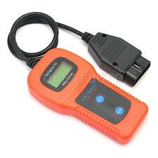 U281 Backlit 2-line LCD OBD 2 Scanner Fault Code Reader AirBag ABS Reset Tool
