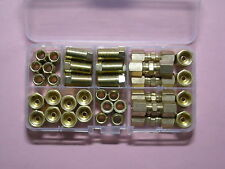 "Brake Line Fitting Assortment 3/16"" Qty  42"