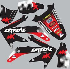 Graphic Kit for 2005-2008 Honda CRF 450 CRF450 shrouds fender plastic decals