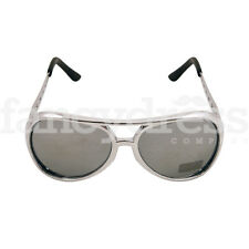 Rock and Roll Sunglasses Glasses Elvis Presley Novelty Fancy Dress Accessory NEW