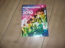 Musikexpress 1/2011 CD,Schlingensief,Take That,Hurts,Rückblick 2010,Duffy