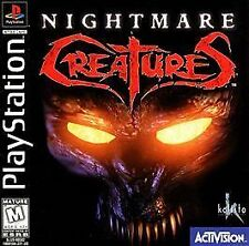 Nightmare Creatures (Sony PlayStation 1, 1997) *COMPLETE*