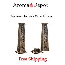 Incense Stick Holder-Wooden Artisan Decor Tower Stand New/Burner/Incenses/coffin