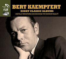 Bert Kaempfert EIGHT (8) CLASSIC ALBUMS Afrikaan Beat A SWINGIN' SAFARI New 4 CD