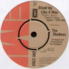"SHADOWS ~ STAND UP LIKE A MAN / LET ME BE THE ONE ~ 1975 UK 7"" SINGLE ~ EMI 2269"