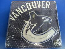 Vancouver Canucks NHL Pro Hockey Sports Banquet Party Paper Luncheon Napkins