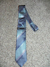 VINCE CAMUTO MENS TIE GRAY MULTI-COLOR POLYESTER SILK BLEND NWT
