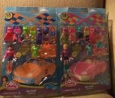 POLLY POCKET CAR COOL FASHIONS - LILA & POLLY 36 PIECES