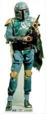 Boba Fett Bounty Hunter Star Wars Cardboard Cutout / Figure 187cm Tall awesome!