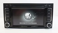 OEM VW RNS 510 LED SSD SATNAV MP3 DVD UNIT 7E0035680 D / TOUAREG TRANSPORTER T5
