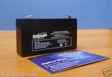 6V 1.3AH Rechargeable Valve Regulated Sealed Lead Acid Battery 20HR VRLA SLA