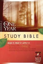 The One Year Study Bible NLT by , Good Book