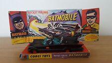 CORGI 267 BATMAN BATMOBILE - RED WHEELS - TOW HOOK VERSION - ALL ORIGINAL