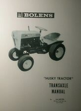 Bolens 600 800 900 1000 Lawn & Garden Tractor Transaxle Overhaul Repair Manual
