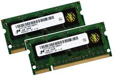 2x 4gb 8gb ordinateur portable ram ddr2 800 MHz so-DIMM pc2-6400s 200 broches mémoire ordinateur portable