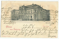 Germany Gruss Aus Leipzig Early 1900's Old Vintage Postcard