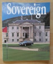 JAGUAR SOVEREIGN orig 1994 International Magazine Brochure - Edition 12