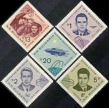 "Bulgaria 1964 Space Flight/Astronauts/""Voskhod 1""/Cosmonauts 5v set (n44216)"