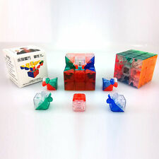 MoYu 3x3 Smooth New 3 x 3 x 3 YJ Yulong Stickerless Cube Puzzle, Transparent