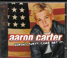 CD ALBUM 12 TITRES--AARON CARTER--AARON'S PARTY--2000