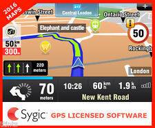SYGIC GPS Navigation 2016 Map Software for Europe -Licensed with Activation Code