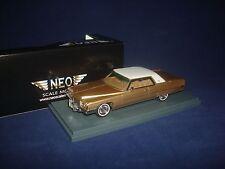 Cadillac Coupe de Ville Gold Metallic 1972 NEO 44410