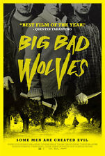 Big Bad Wolves -  original DS movie poster - D/S 27x40 - 2013